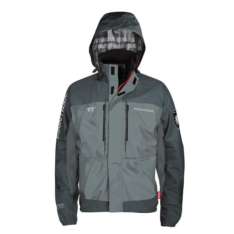 Finntrail Jacket Shooter Grey