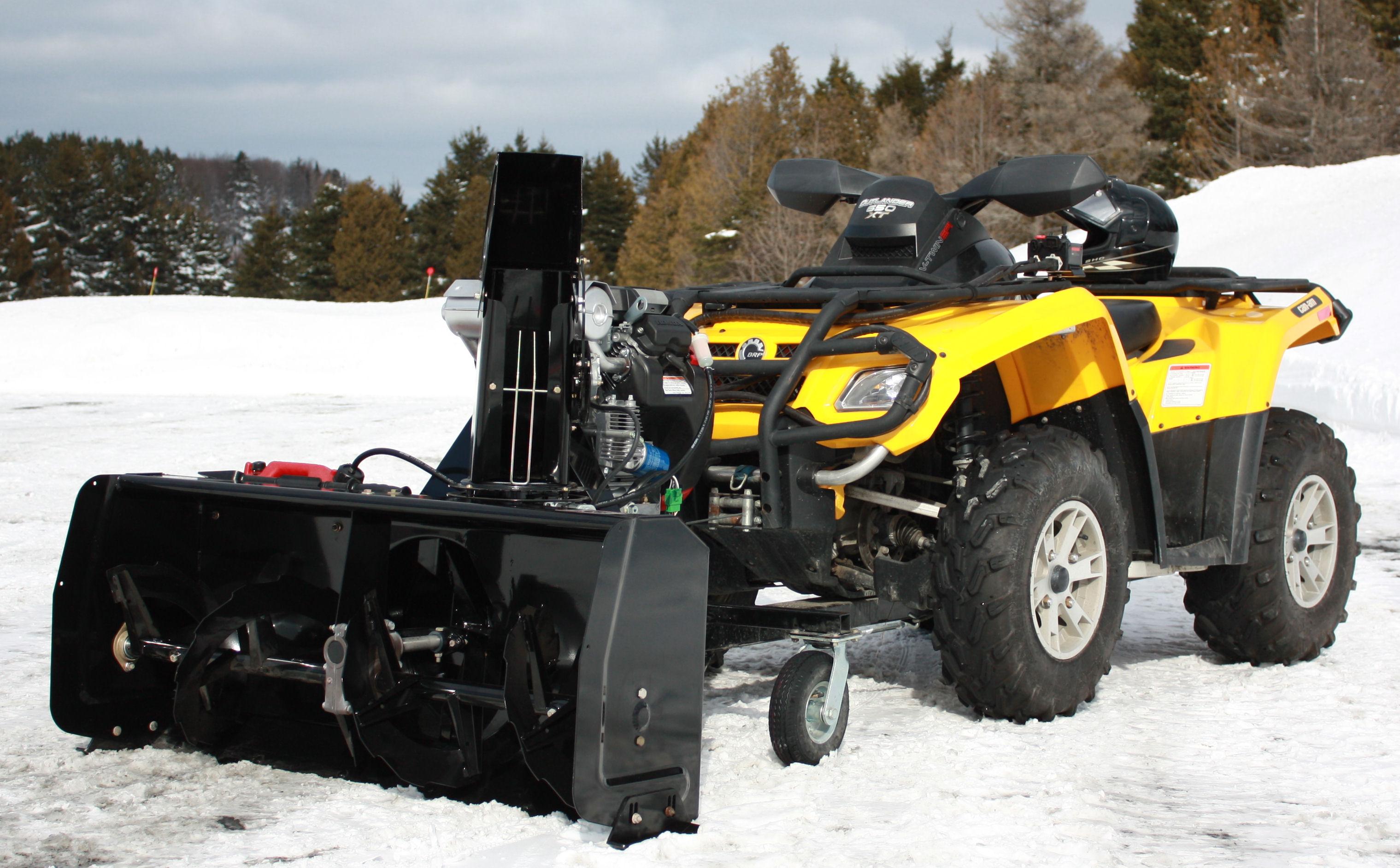 """BERCOMAC profesionální sněžná fréza 48"""" (122 cm) motor Kohler 14HP"""