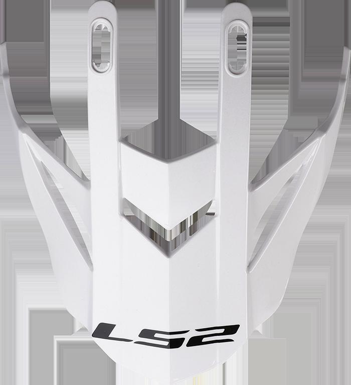 LS2 MX436 EVO PEAK GLITTER WHITE