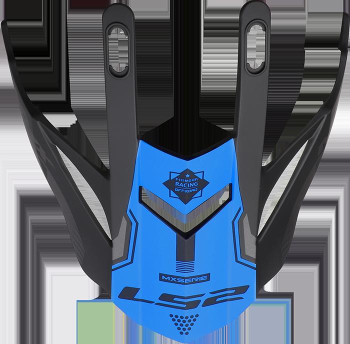 LS2 MX436 EVO PEAK COBRA BLUE