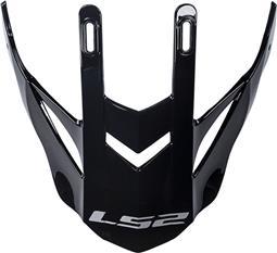 LS2 MX436 PEAK GLOSS BLACK