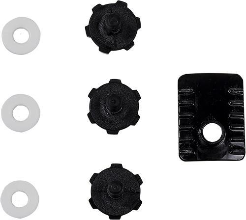 LS2 MX470 PEAK SCREWS BLACK