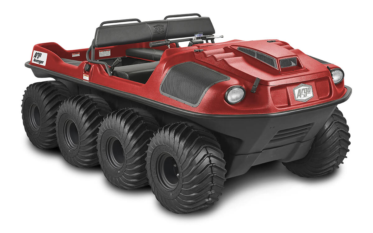 ARGO Avenger 8x8 ST, red