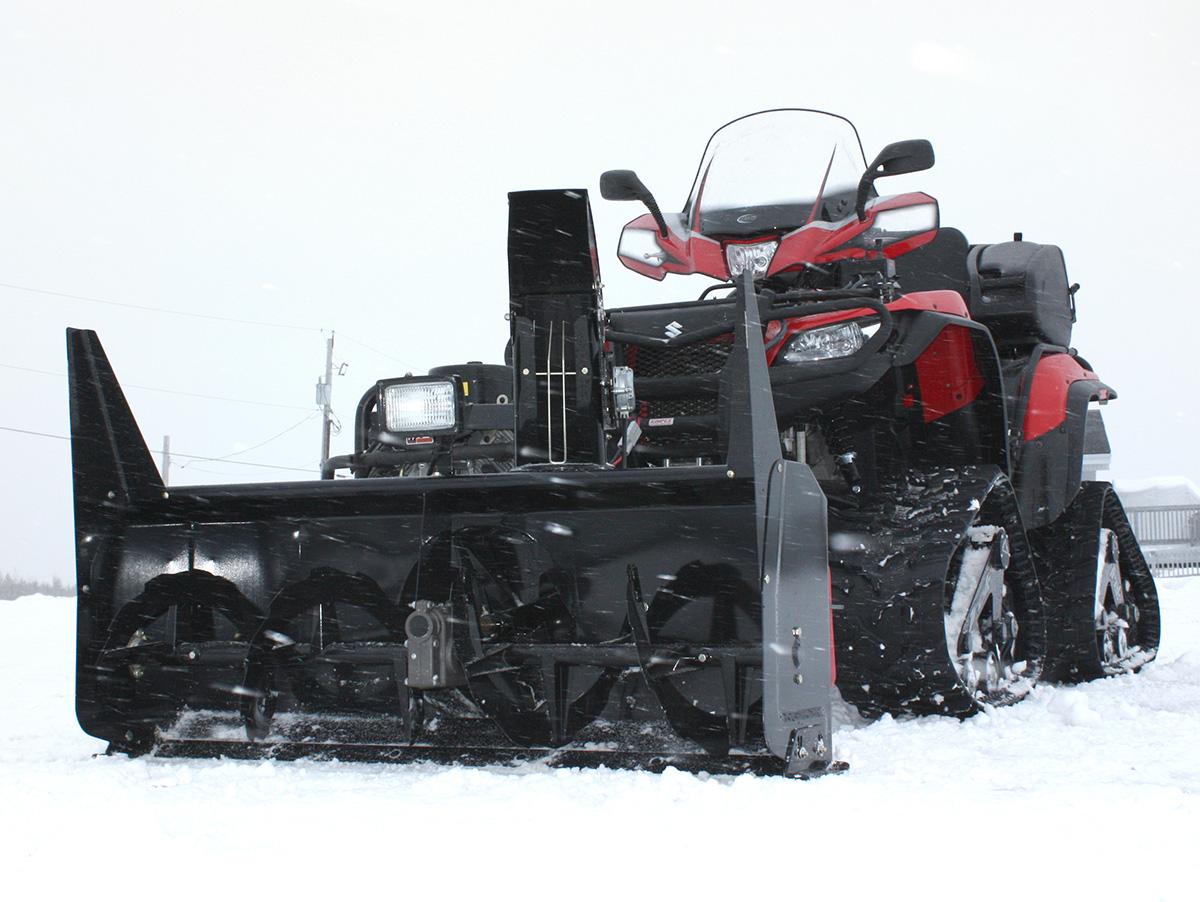 """BERCOMAC profesionální sněžná fréza 54"""" (138 cm) Honda motor 22HP"""