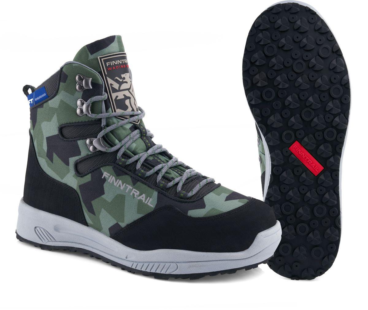 Finntrail Boots Sportsman CamoArmy