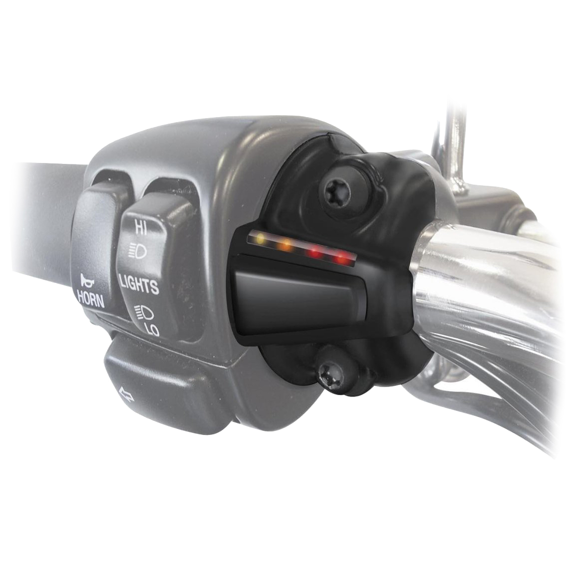 Symtec Grip Warmer Kit, LH Black Controller, Clutch S