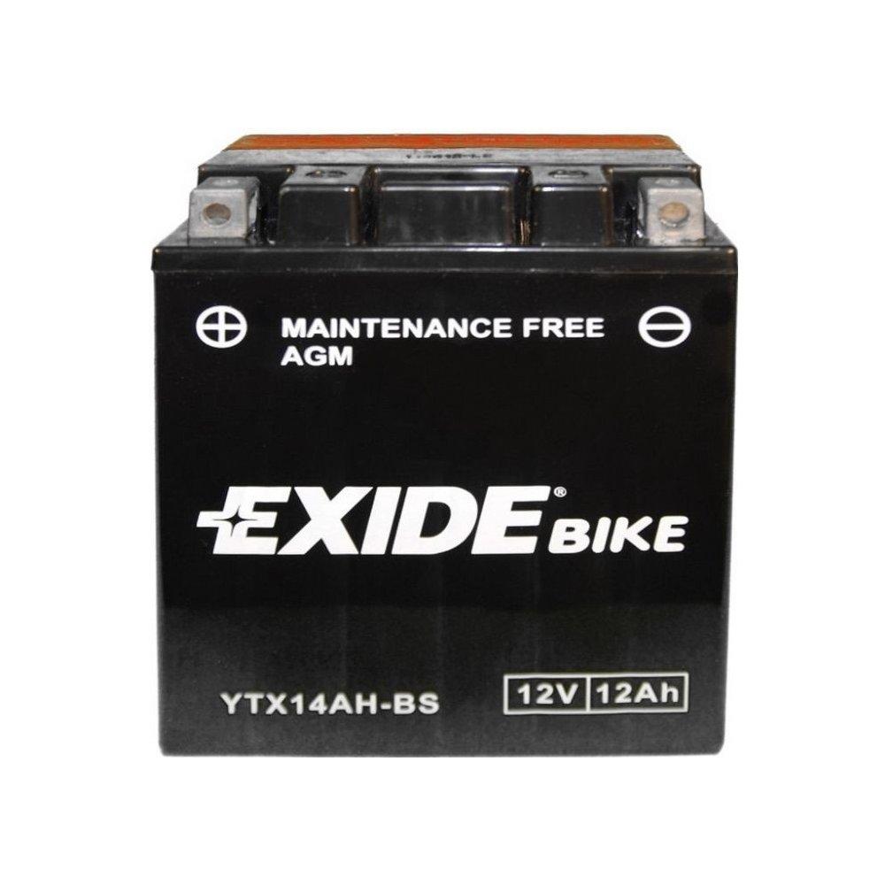 EXIDE YTX14AH-BS, 12V/14Ah/ 210A, INDIAN