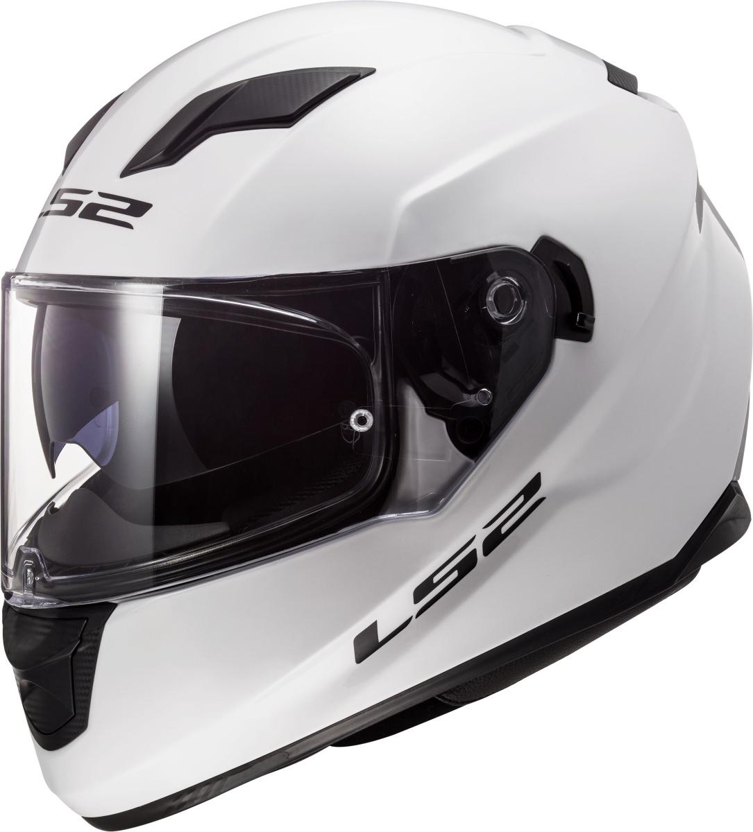 LS2 FF320 STREAM EVO GLOSS WHITE