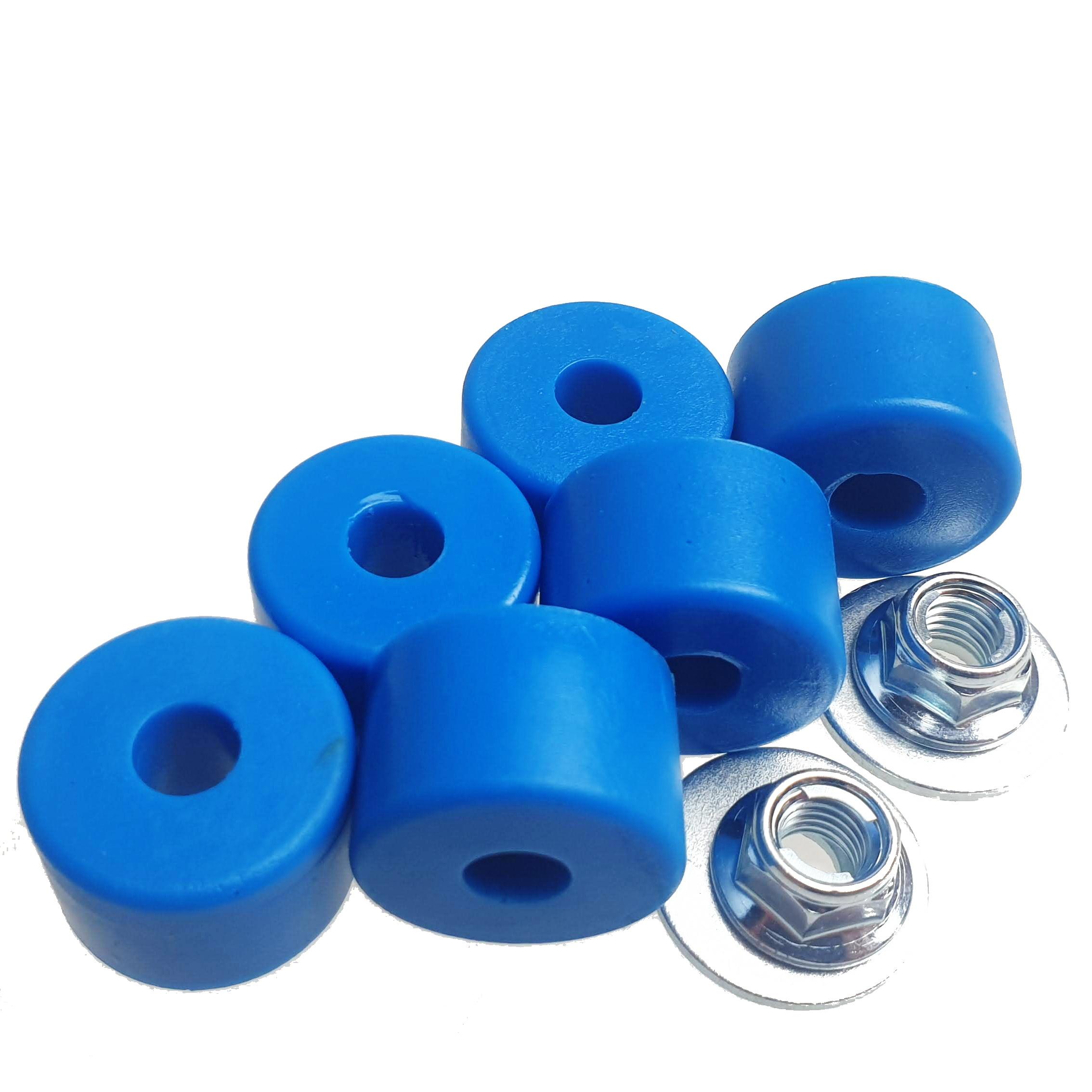 Náhradní elastomery (3 páry), modré