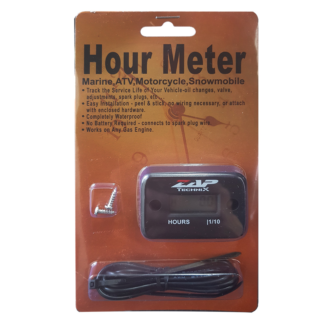DRC Hour Meter, počítadlo MTH