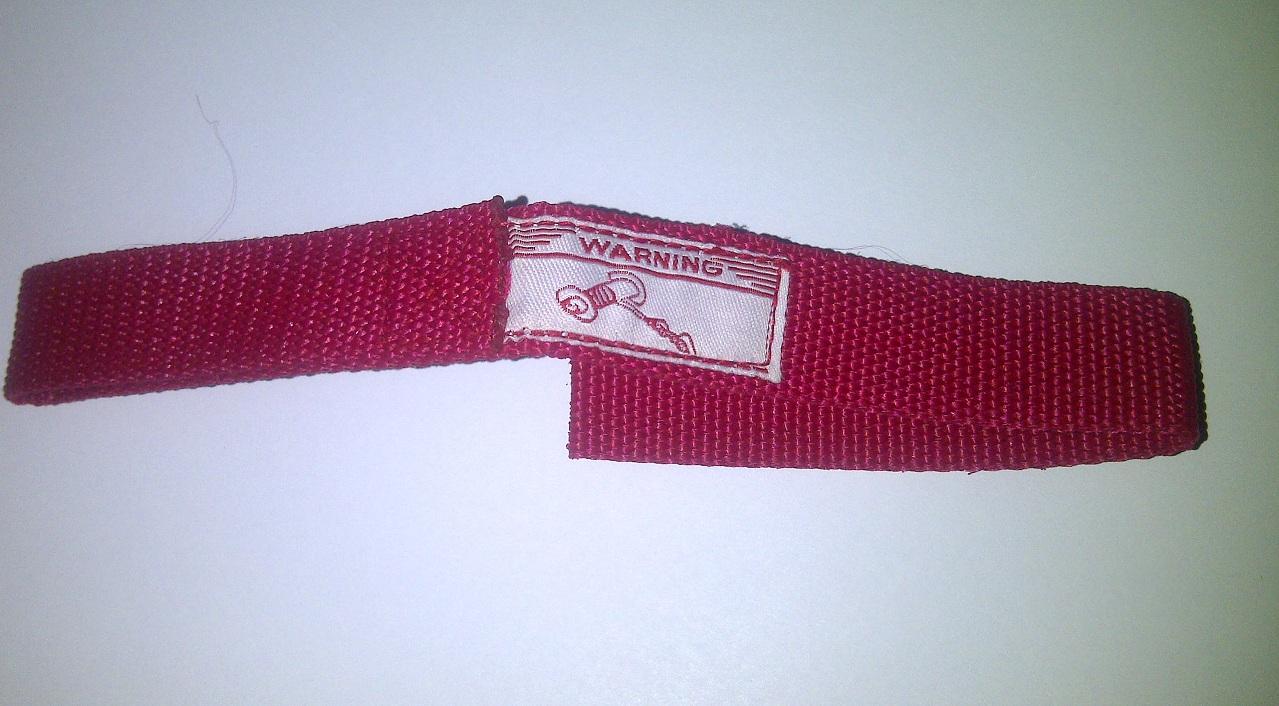 Handsaver strap