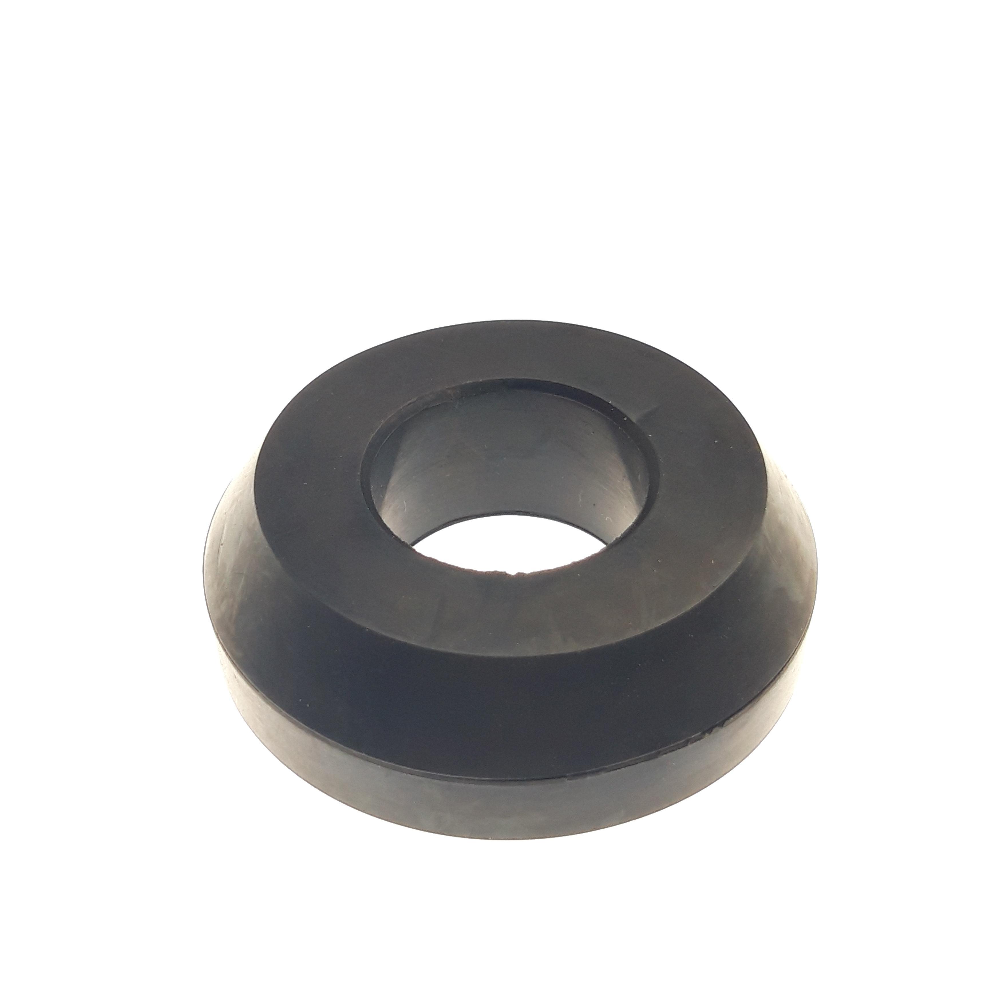 Bumper: B/O (o .875 Shaft, .600 TLG) 80A NBR Rubber