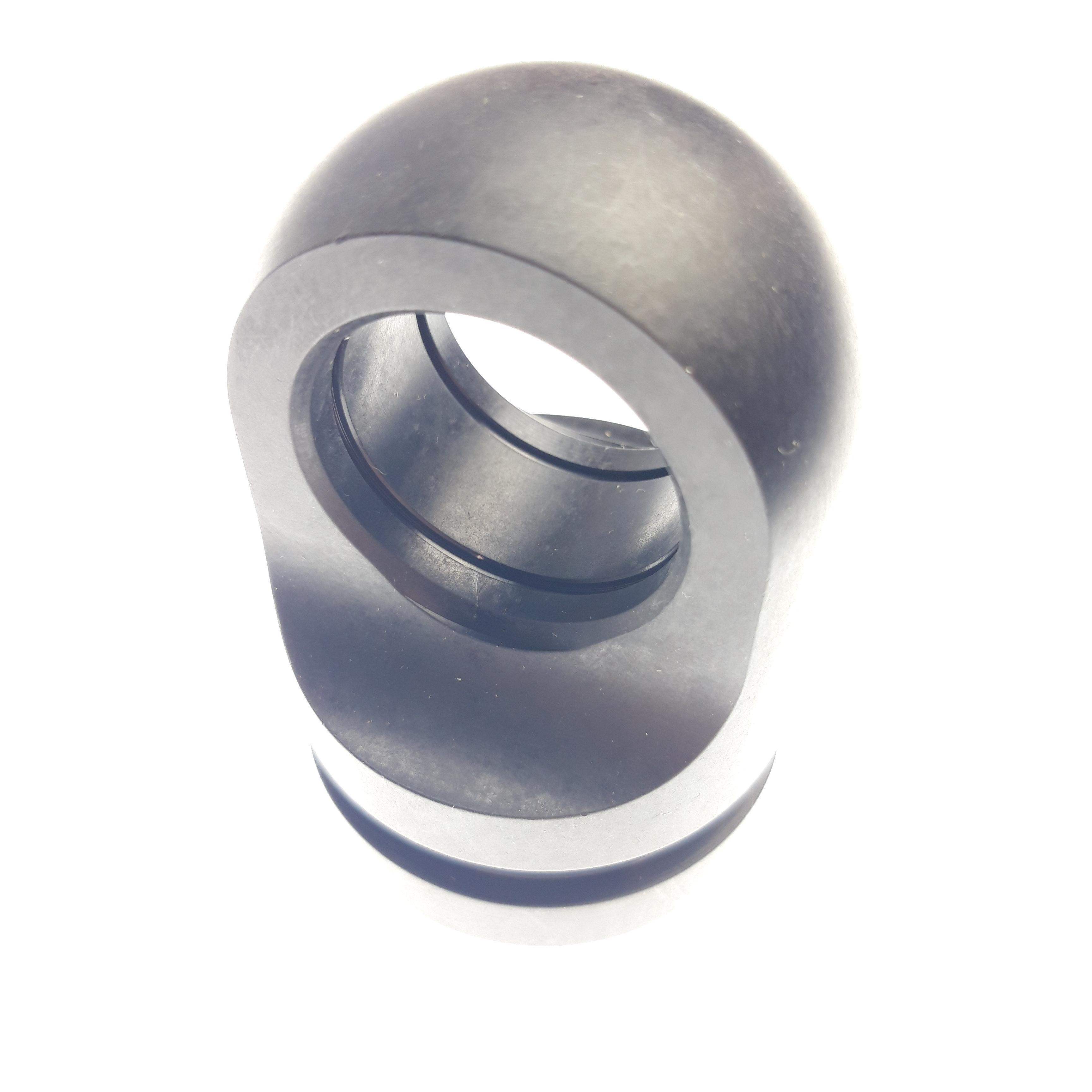 Eyelet Parts: Eyelet, Shaft (0.875 Shaft,1.00 W,2.942 TLG,1.1869 ID) AI6061,Blk