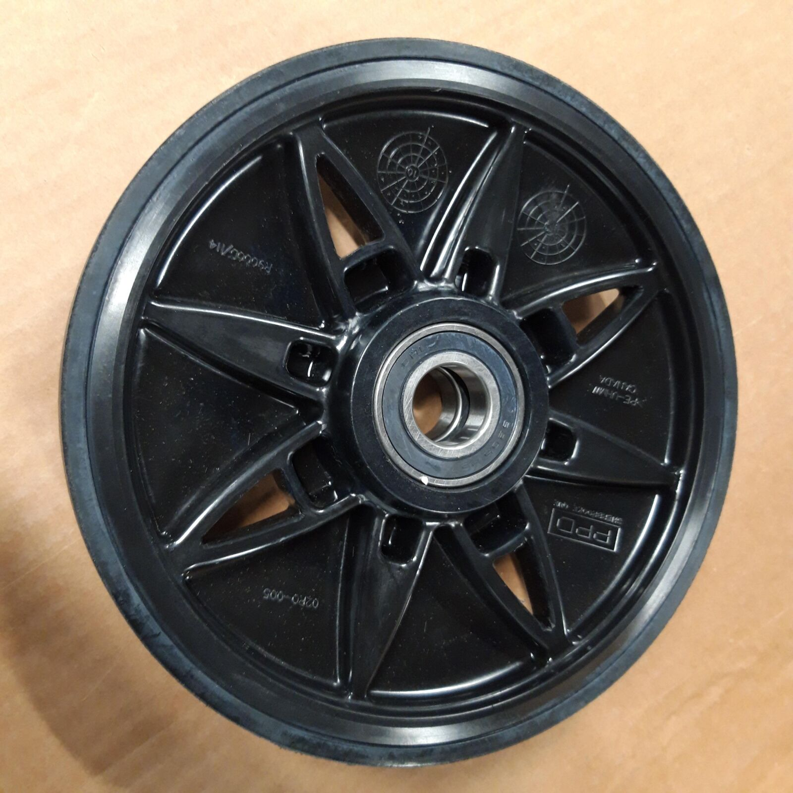 """WHEEL 9"""" WITH RUBBER"""