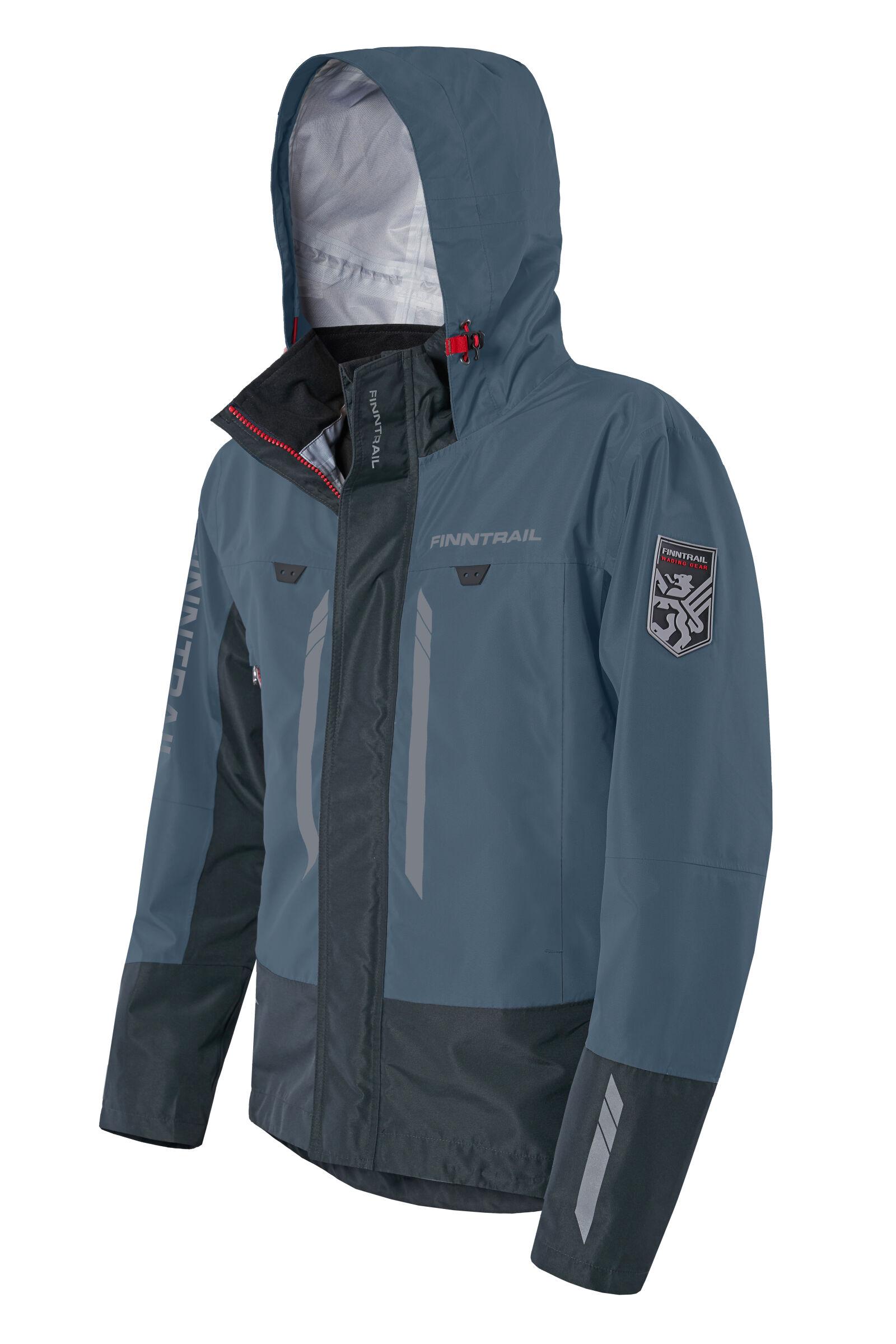 Finntrail Jacket GreenWood Blue
