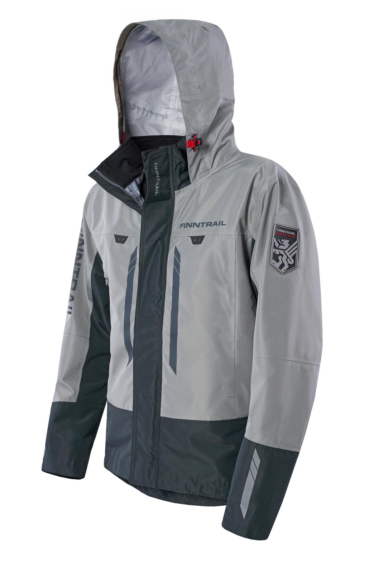 Finntrail Jacket GreenWood Grey