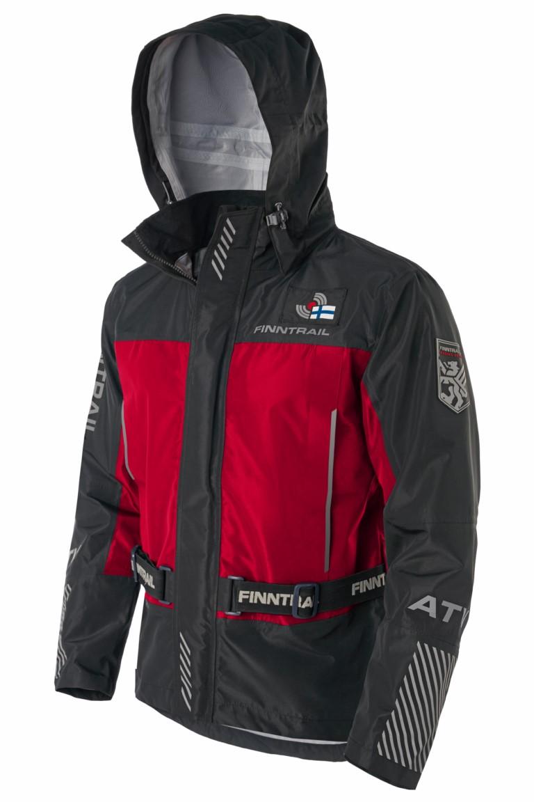 Finntrail Jacket Mudway Red
