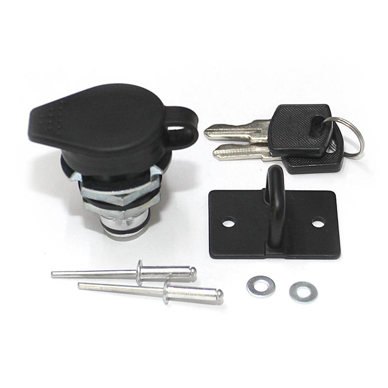 Kimpex CAM LOCK ADVENTURE TRUNK, locker + keys