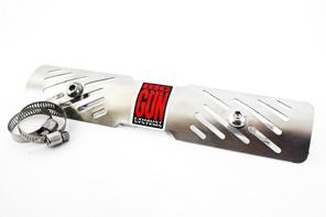 BIG GUN Universal Large Heat Shield W/hardware