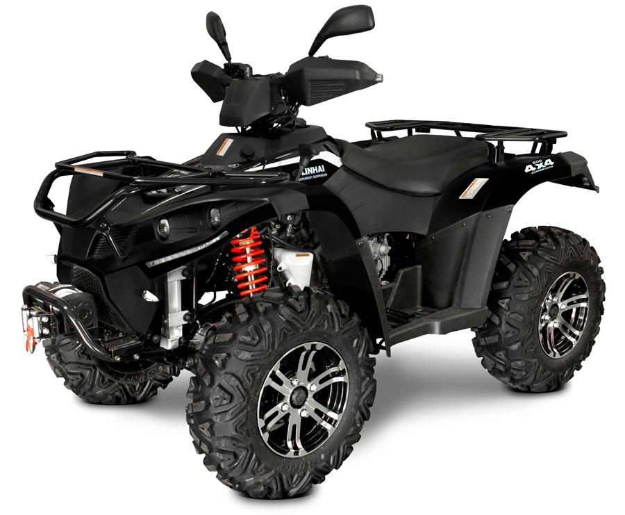 Linhai ATV 500 4x4 EFI, T3b, černá