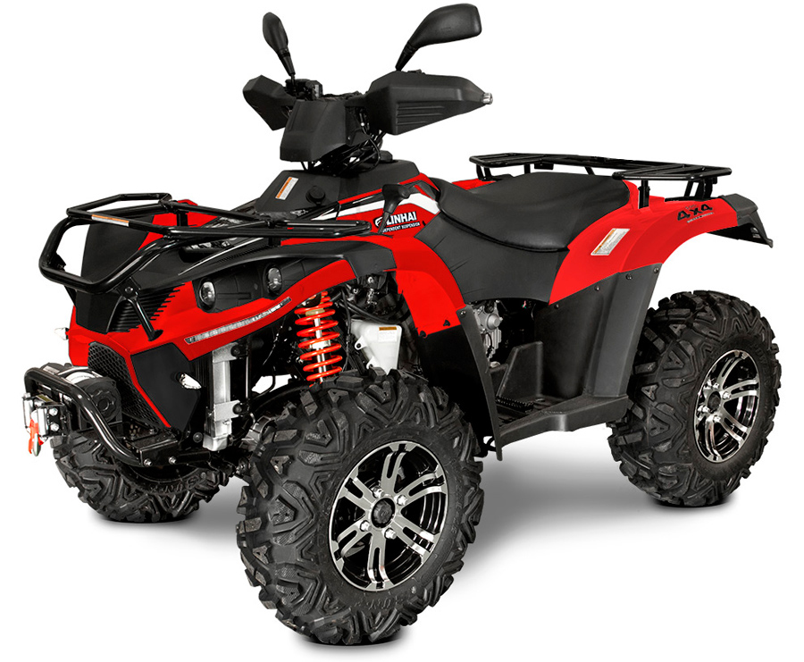 Linhai ATV 500 4x4 EFI, T3b, červená