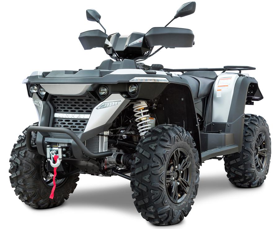 Linhai ATV M550L 4x4 EFI, E4, černá