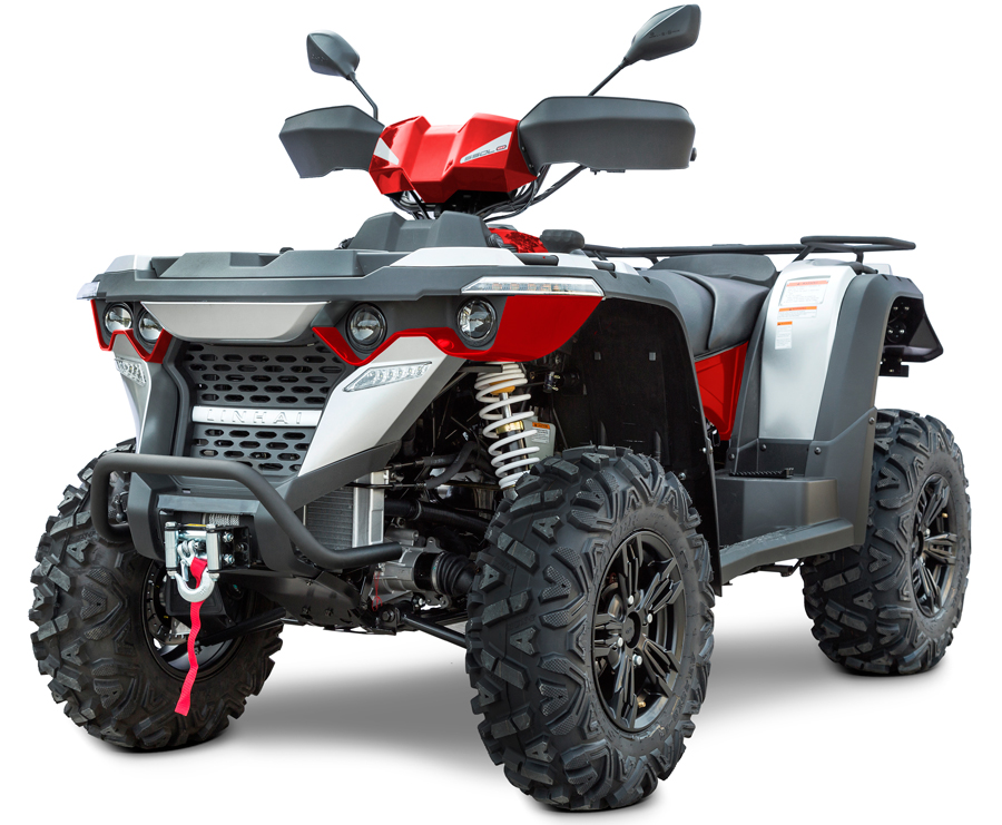 Linhai ATV M550L 4x4 EFI, E4, červená