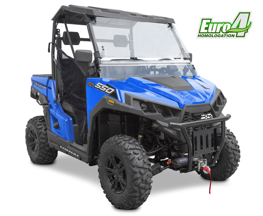 Linhai T-Boss 550 EPS E4 LIMITED modrá