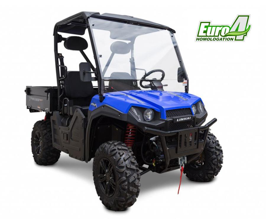 Linhai T-Boss 550 (520) E4, modrá