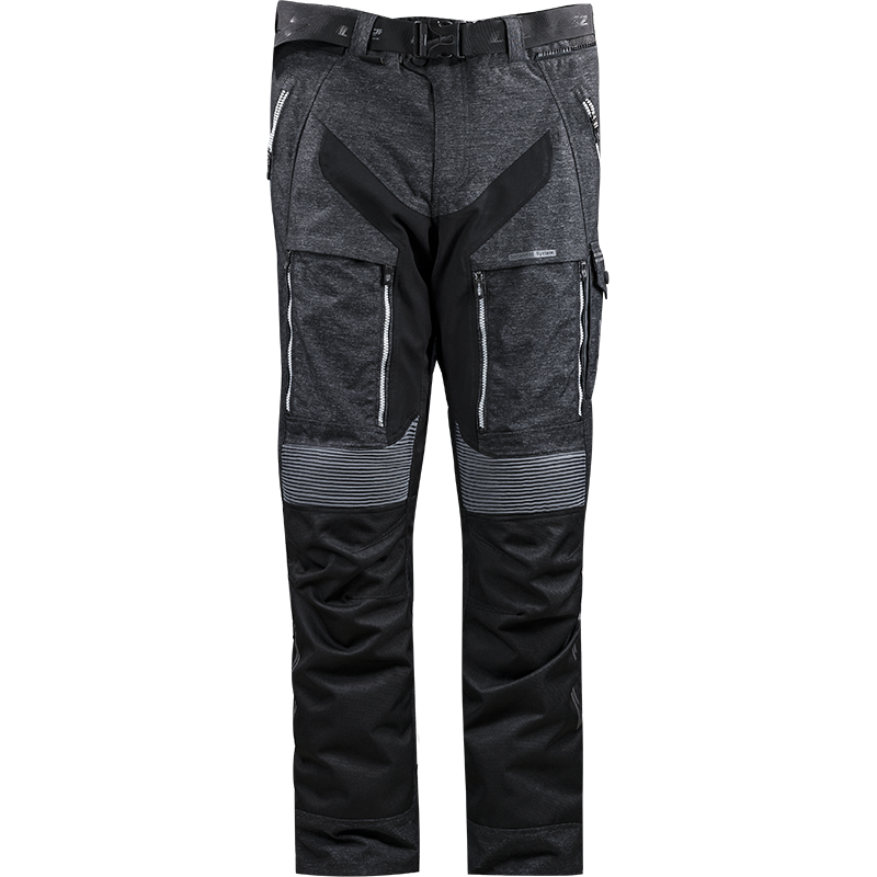 LS2 NEVADA MAN PANT BLACK DARK GREY