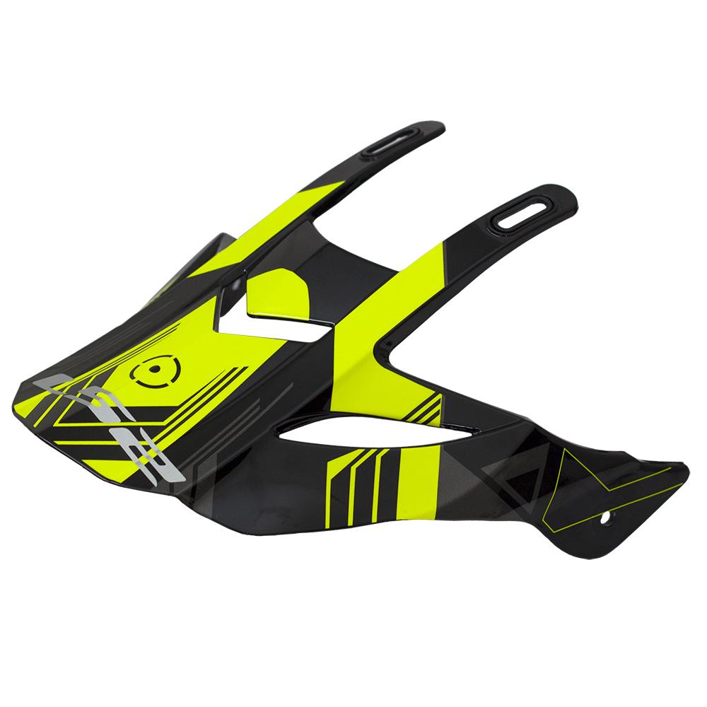 LS2 PEAK MX436 TRIGGER BLACK HI-VIS YELLOW