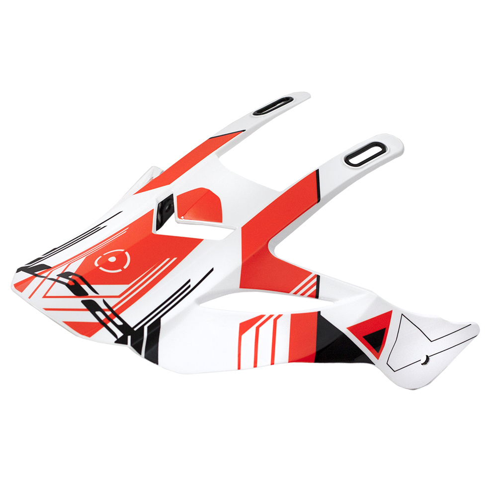 LS2 PEAK MX436 TRIGGER WHITE BLACK RED