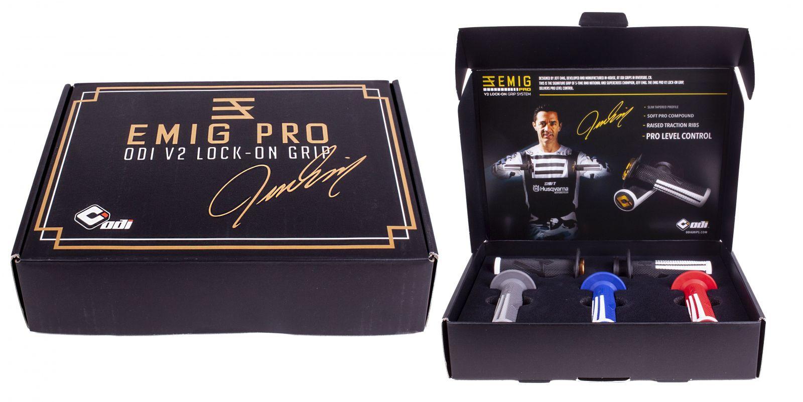 ODI GRIPS EMIG PRO Promo Kit - Special edition