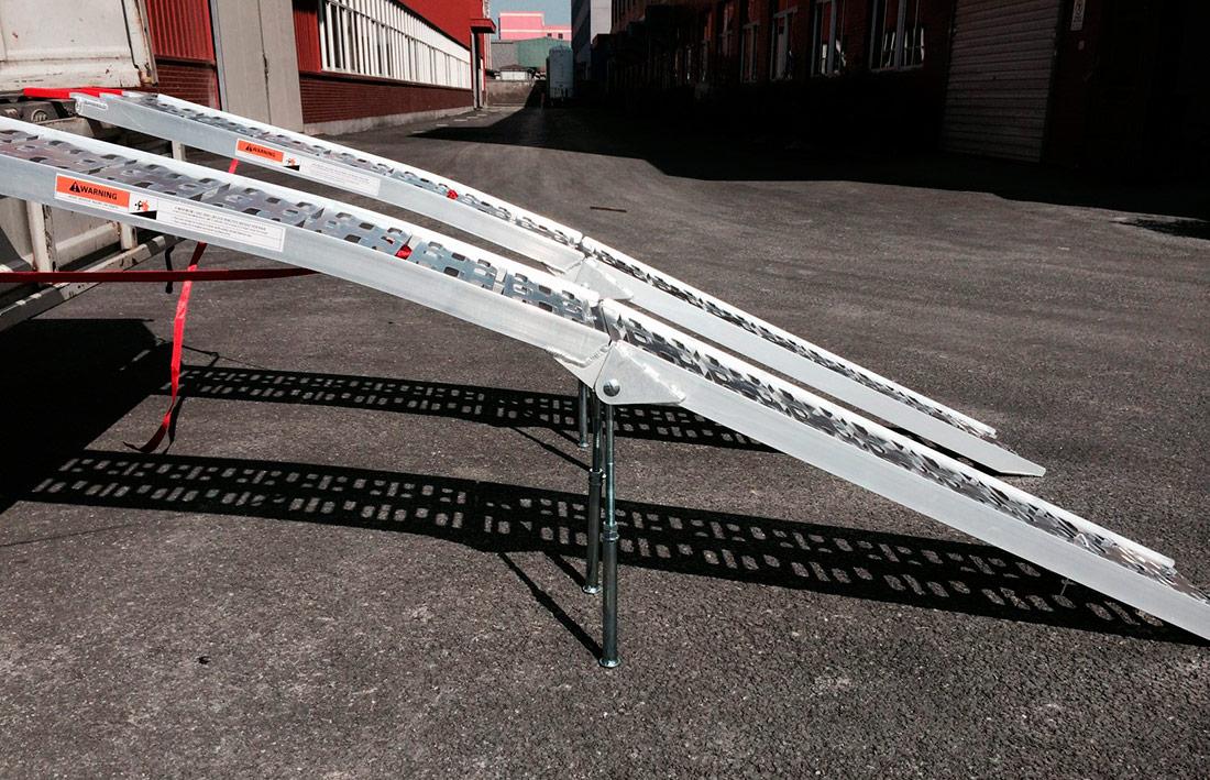 SHARK UTV, MOTO hliníkové nájezdy (2 kusy), nosnost max. 1360 kg