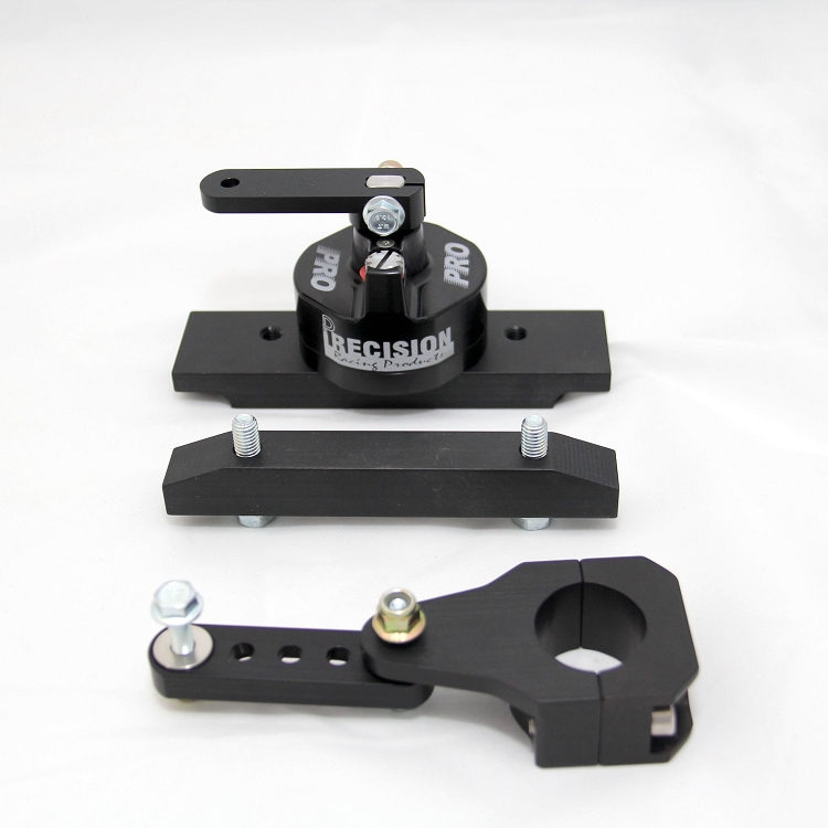 PRECISION DRR MINI PRO STEERING STABILIZER and MOUNTING HARDWARE