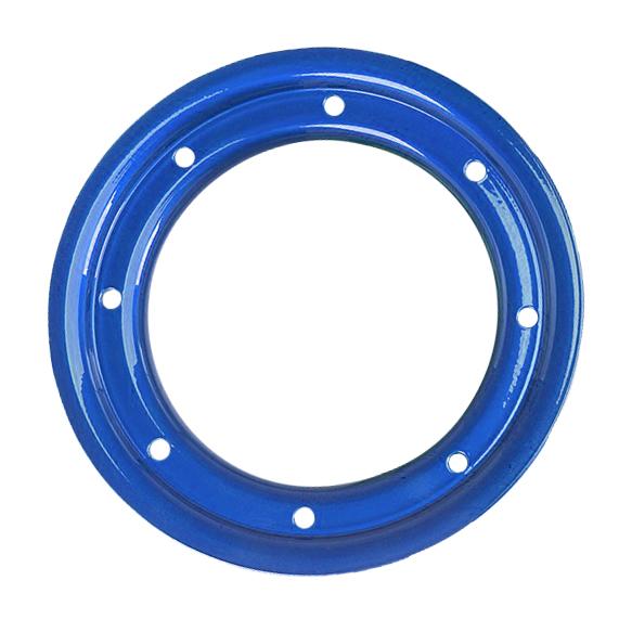 "10"" TRAC LOCK RING BLUE"