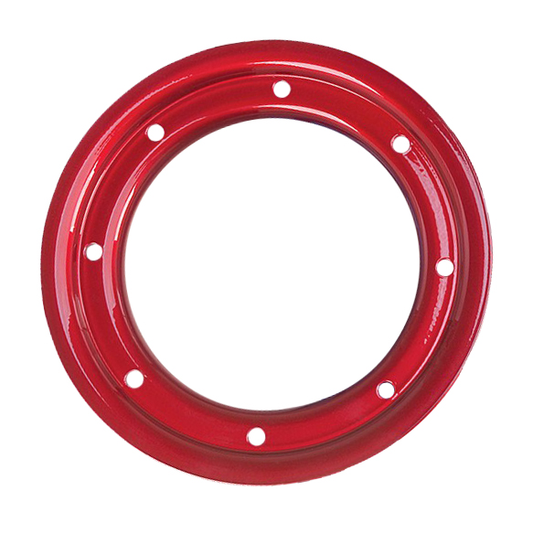 """10"""" TRAC LOCK RING RED"""