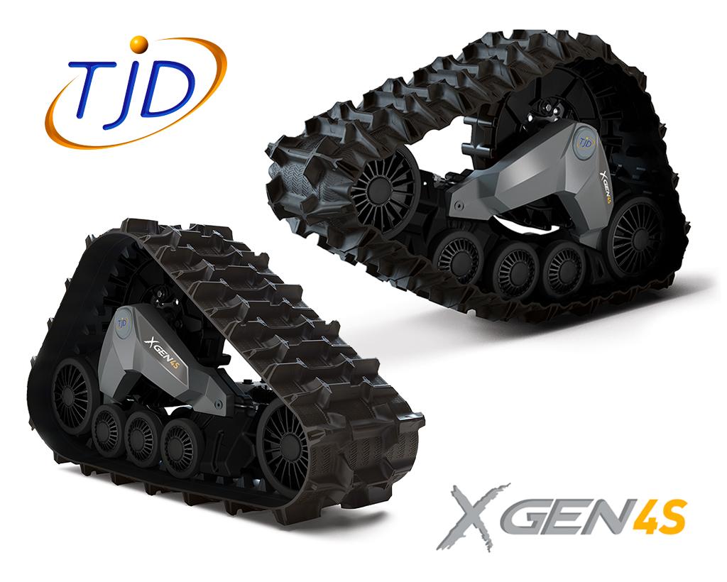 TJD XGEN 4S TRACK (incl. adapters)