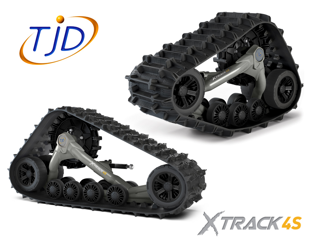 TJD XTRACK 4S TRACK, E242-XX-1617, (incl. adapters)