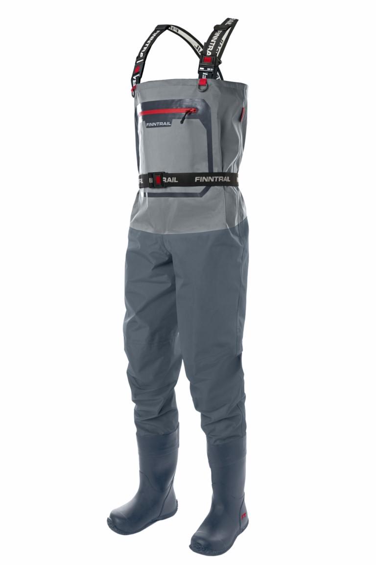 Finntrail Waders Airman Grey