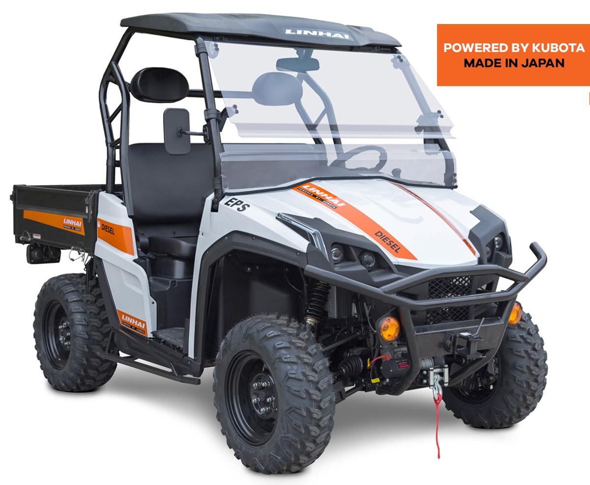 Linhai UTV 1100 Diesel EPS, T1b, bílá