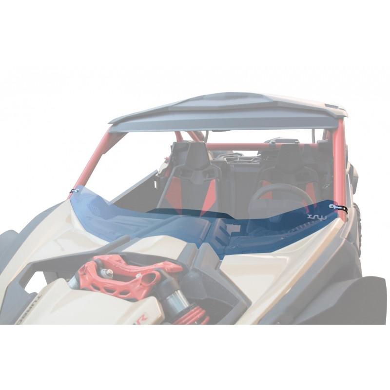 WIND DEFLECTOR RACING POLYCARBONATE - CAN-AM MAVERICK X3 XRS