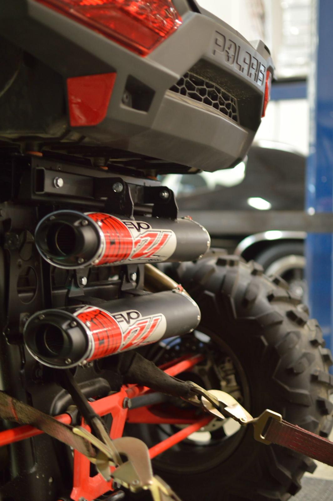 BIG GUN Polaris RZR XP 1000/RZR 4 XP 1000 (2014 -16) EVO Utility Full Dual System